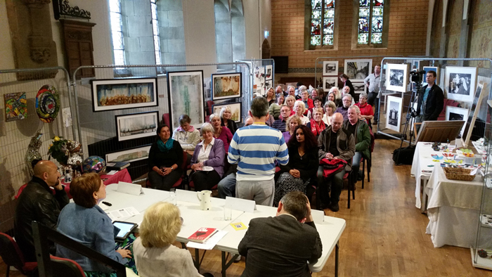 Manchester Salon discussion at Spring Bank Arts
