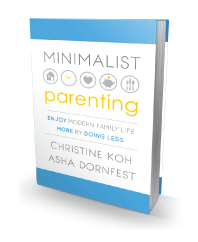 Minimalist Parenting book cover
