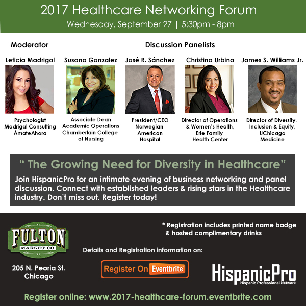 Healthcare Networking Chicago Fulton Market Company West Loop