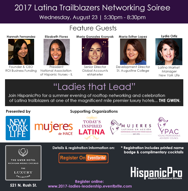 Latinas Networking Chicago Untitled River North