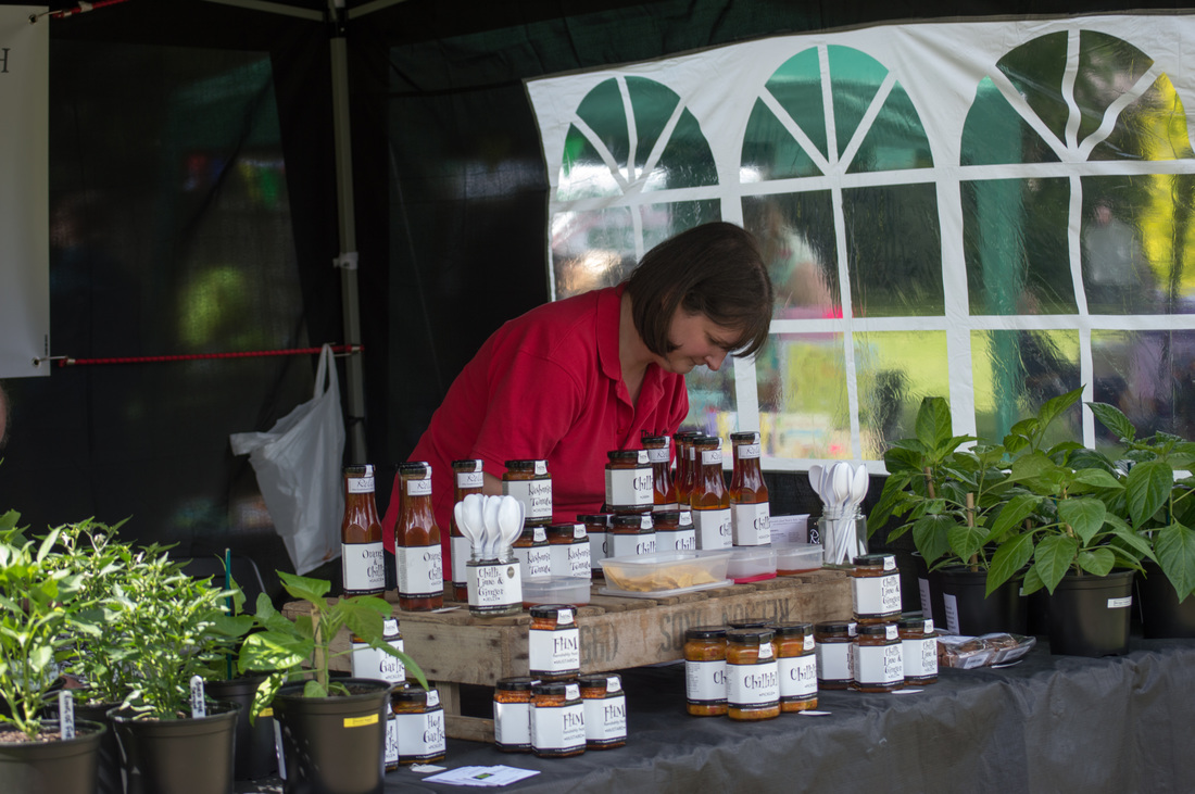 The Chilli Shed, one of our outstanding regular stallholders