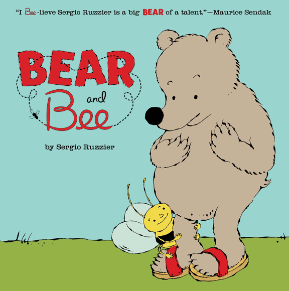 Bear and Bee Cover