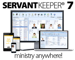 servant keeper church software