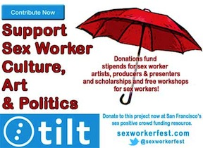 Please donate to the Sex Worker Fest