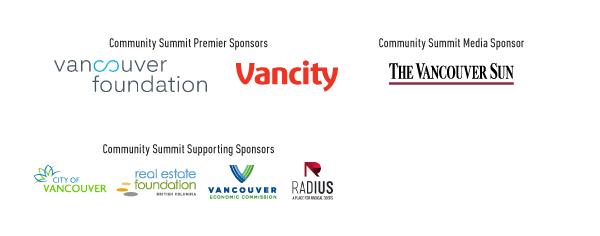 Community Summit Sponsors
