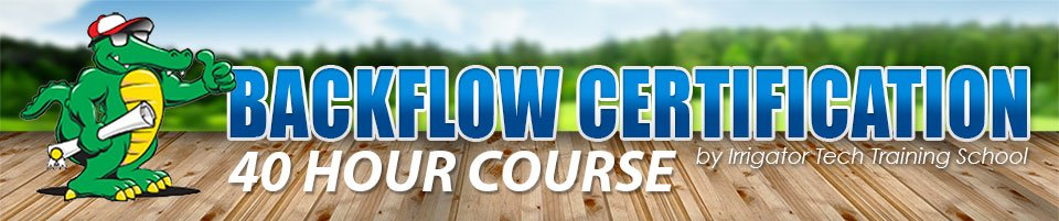 Backflow Certification Course
