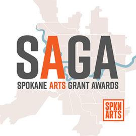 Spokane Arts Grant Awards Logo