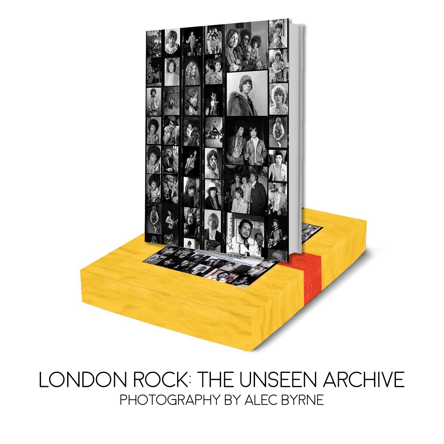 London Rock: The Unseen Archive - Photography by Alec Byrne