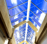 The Moller Centre, Cambridge, Glass roof