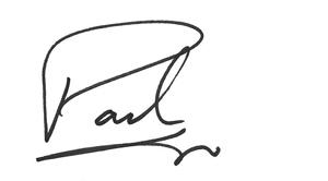 Pad's signature