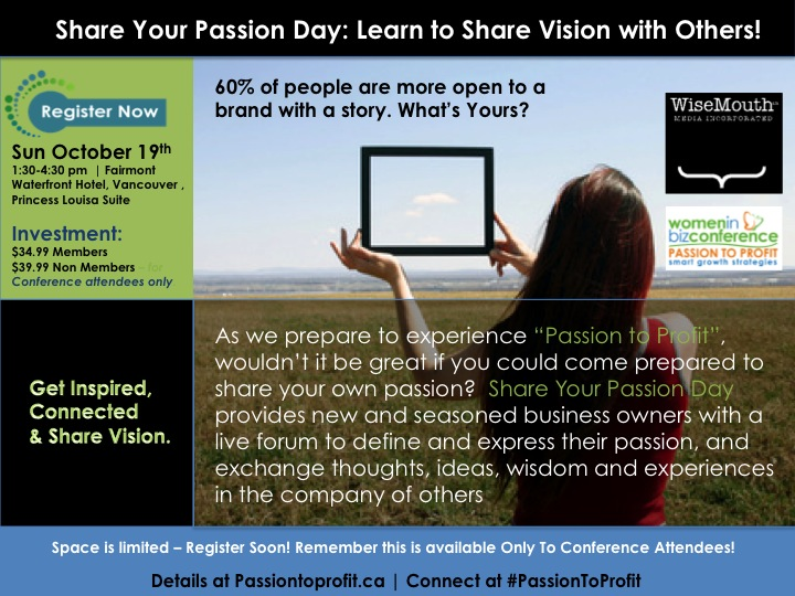 Share Your Passion Day