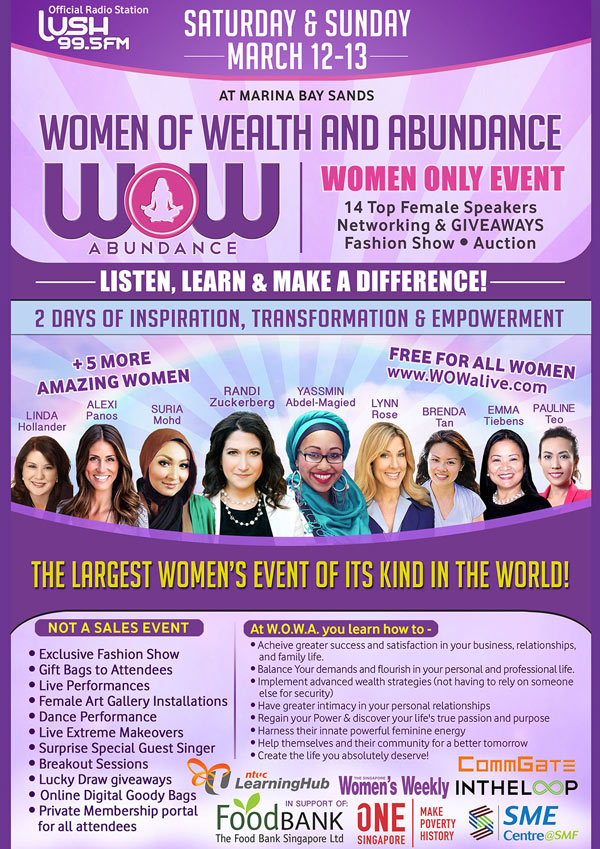 Women Of Wealth & Abundance Conference MBS